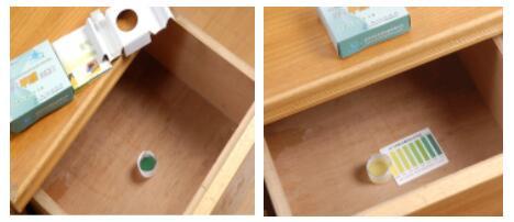 甲醛自测盒实景图